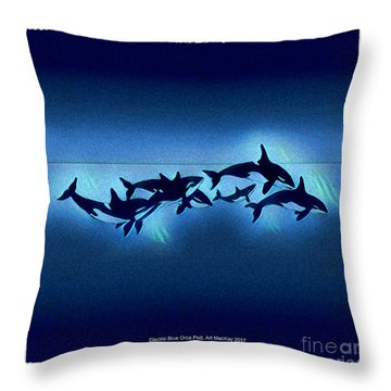 Killer Pod Throw Pillow