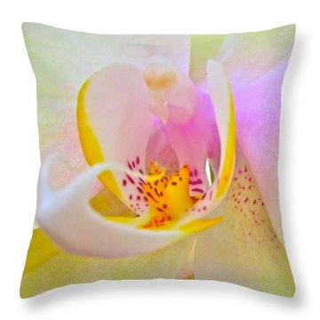 Killing Me Softly Throw Pillow by Gwyn Newcombe