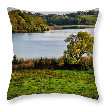 Killone Lake In County Clare, Ireland Throw Pillow