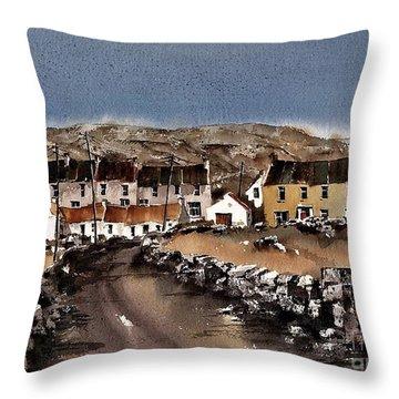 Kilmurvey Inishmore Aran Throw Pillow