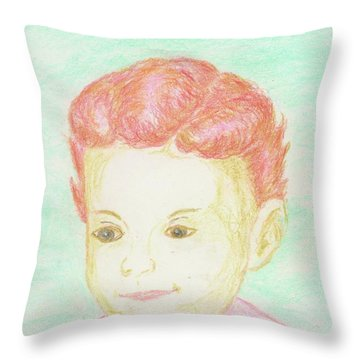 kim Throw Pillow