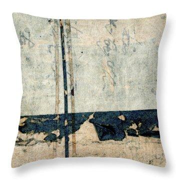 Kimono Package Montage 3 Throw Pillow
