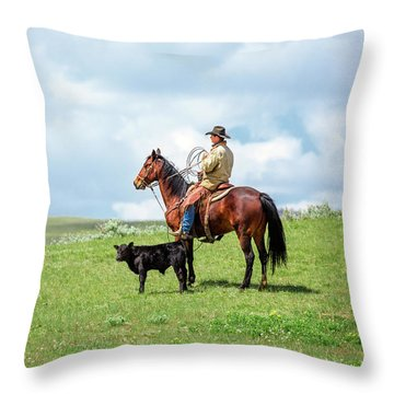 Kind And Gentle Throw Pillow