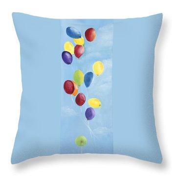 Kinderfest Throw Pillow