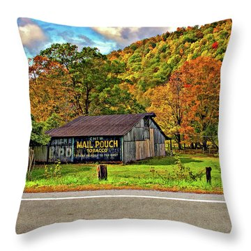 Kindred Barns Throw Pillow