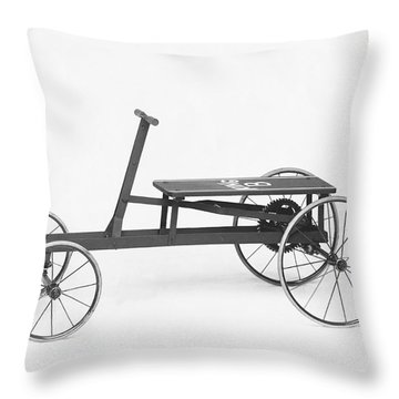 King B Hand Car Throw Pillow