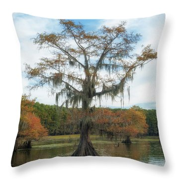 King Cypress Throw Pillow