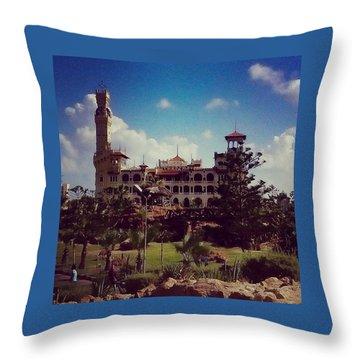 King Farouk Castle, Alexandria, Egypt Throw Pillow