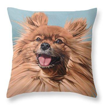 King Louie Throw Pillow