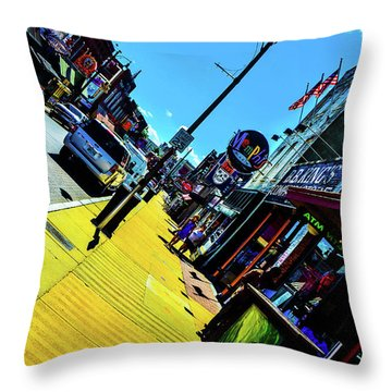King Of Beale Throw Pillow