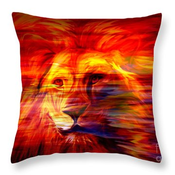 King Of Glory Throw Pillow
