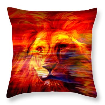 King Of Glory Throw Pillow