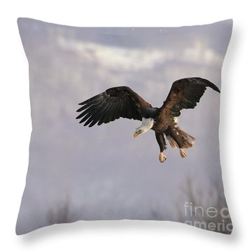 King Of Heavens Throw Pillow