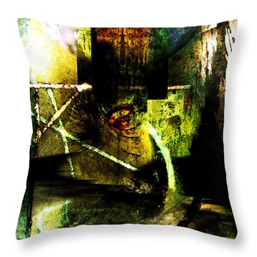 King Of Sadness Throw Pillow