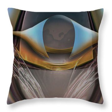 King Of The Skies Throw Pillow