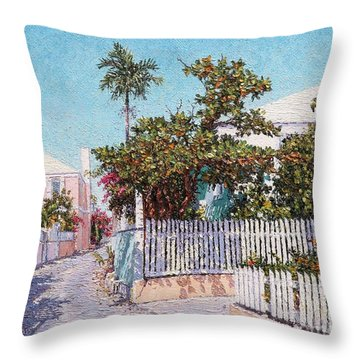 King Street 1 Throw Pillow