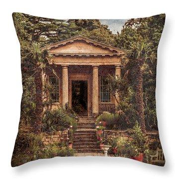 Kew Gardens, England - King William's Temple Throw Pillow