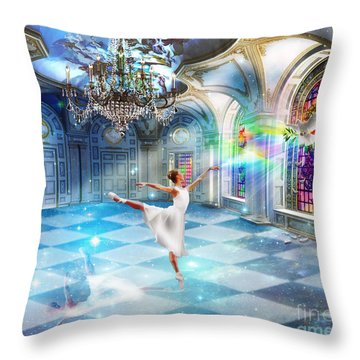 Kingdom Encounter Throw Pillow