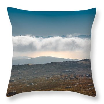 Throw Pillow featuring the photograph Kingdom In The Sky by Gary Eason