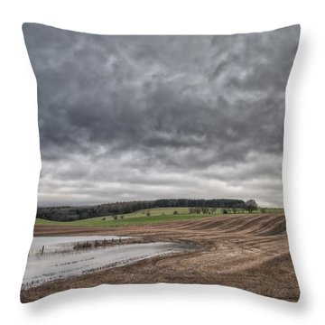 Kingdom Of Fife Throw Pillow by Jeremy Lavender Photography