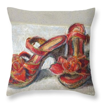 Kingdom Shoes Throw Pillow