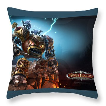 King's Bounty Throw Pillow