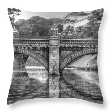 Kings Bridge Tokyo Throw Pillow