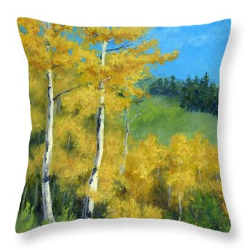 Kings Of Autumn Throw Pillow