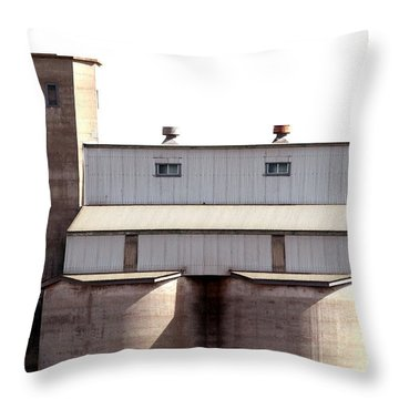 Throw Pillow featuring the photograph Kingscote Skyrise by Stephen Mitchell