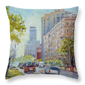 Kingshighway Blvd - Saint Louis Throw Pillow