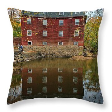 Kingston Mill Fall 2015 Throw Pillow