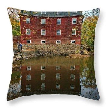 Kingston Mill Fall 2015 Throw Pillow