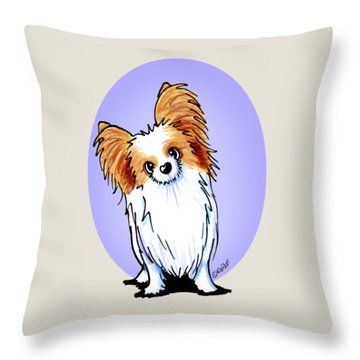 Kiniart Papillon Throw Pillow