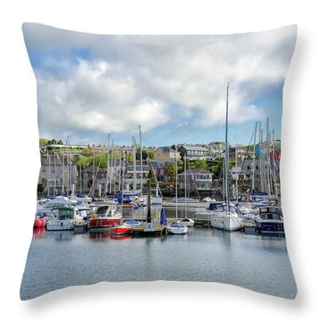 Kinsale Harbor  Throw Pillow