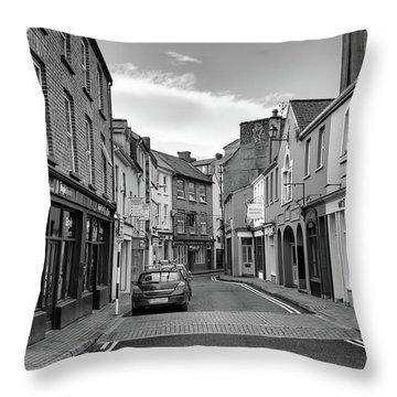 Kinsale Side Street Throw Pillow