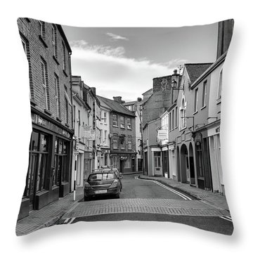 Kinsale Side Street Throw Pillow