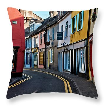 Kinsale Street Throw Pillow