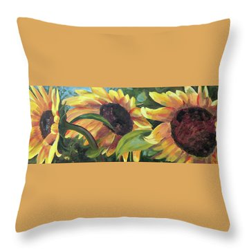 Kinship Throw Pillow