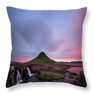 Waterfall Throw Pillows
