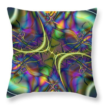Kismit Throw Pillow