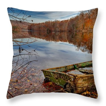 Kiss My Bass Throw Pillow by Craig Szymanski