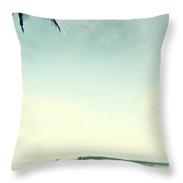 Throw Pillow featuring the photograph Kiss by Nik West