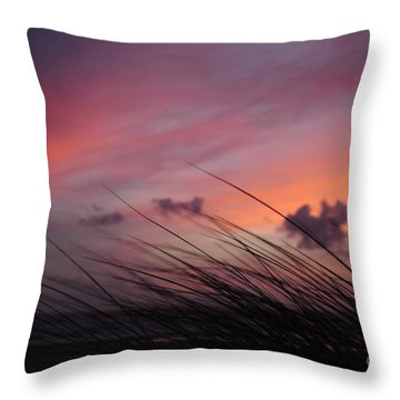 Kiss Of Night Throw Pillow