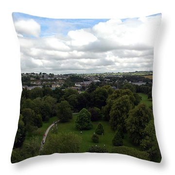 Throw Pillow featuring the photograph Kiss The Blarney Stone by Dianne Levy