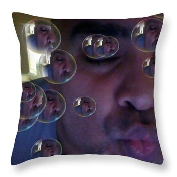 Kisses...for You Throw Pillow