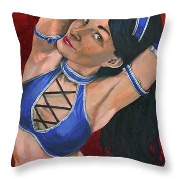 Kitana Throw Pillow