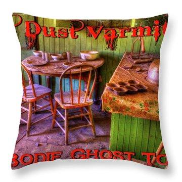 Kitchen Table Bodie California Throw Pillow