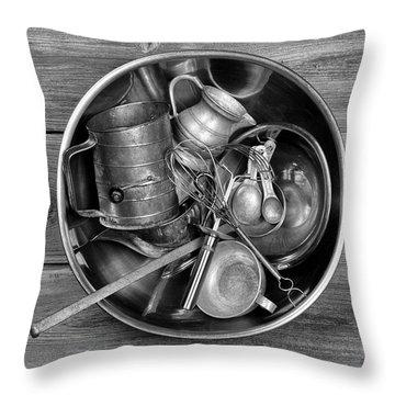 Kitchen Utensils Still Life I Throw Pillow