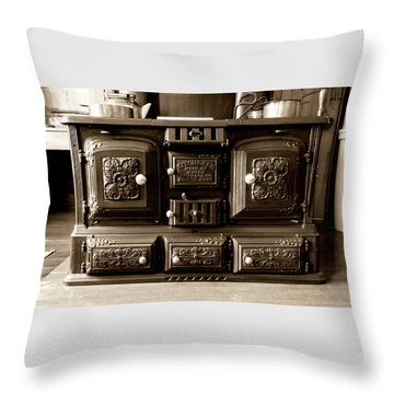 Kitchener Throw Pillow by Greg Fortier