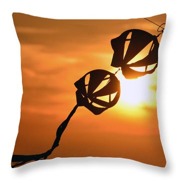 Kite On A String Throw Pillow